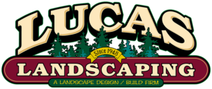 lucas landscaping nursery logo norton ohio